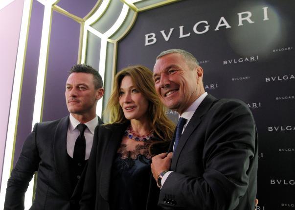 Inaugurazione Bulgari store Mosca