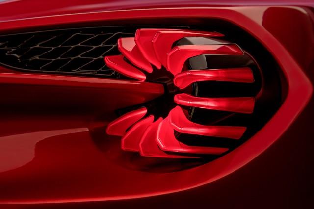 Aston Martin Vanquish Zagato 2017 detail