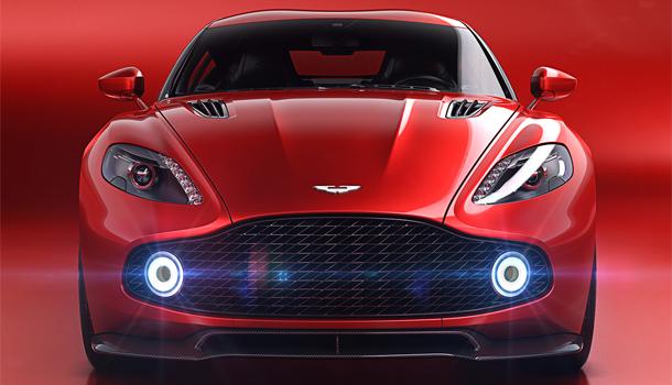Aston Martin Vanquish Zagato 2017 front_