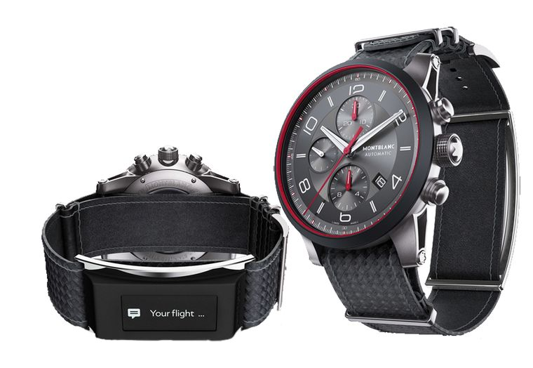 Montblanc connected watch