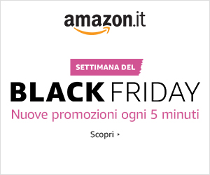Black Friday Italia super obiettivi per amazon