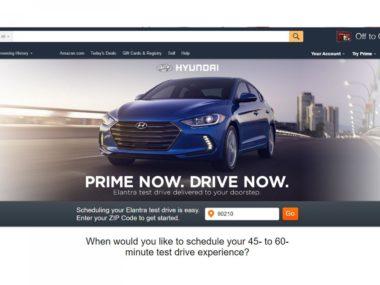Hyundai Electra in vendita su Amazon prime