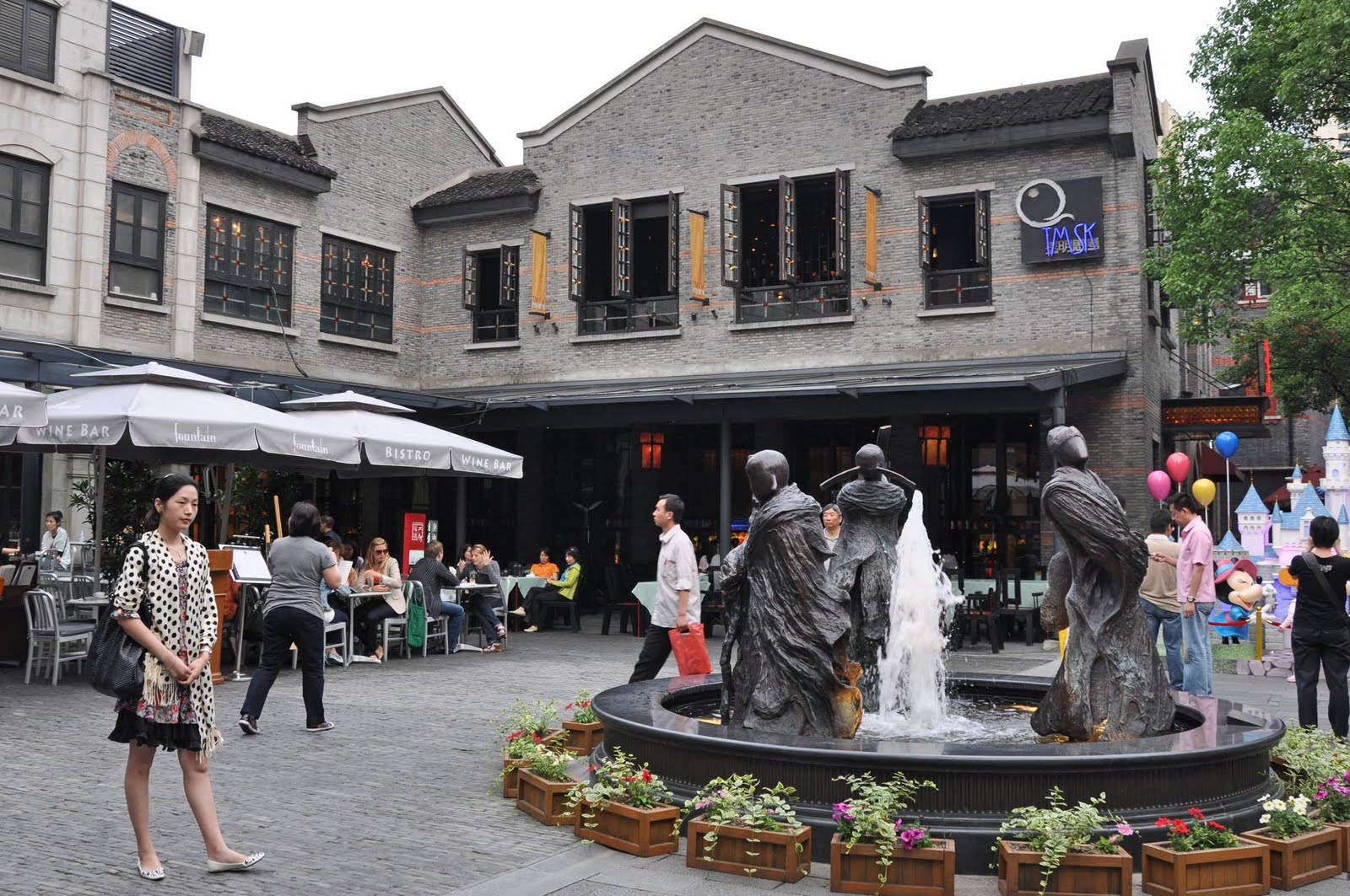 Xintiandi Style mall Shanghai Cina