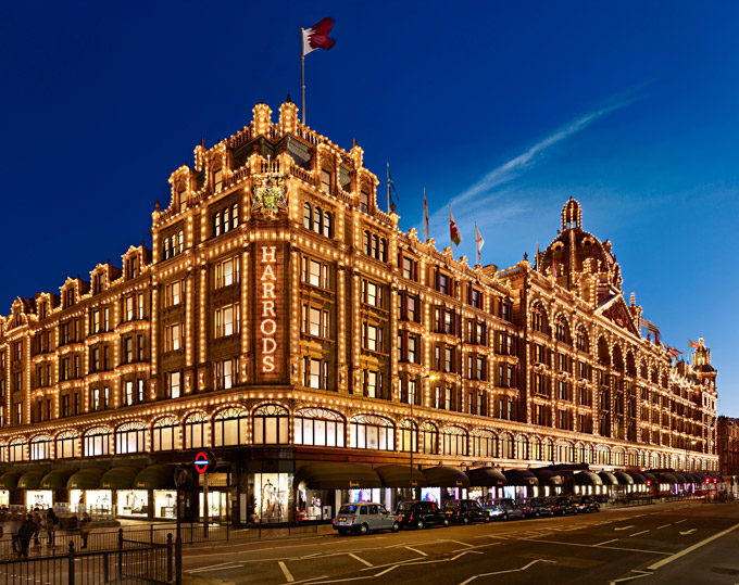 HArrods e farftch nell'e-commerce